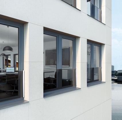 Balkon francuski – szkło (Balustrada szklana)