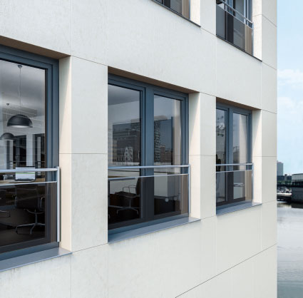 Balkon francuski – szkło i stal szlachetna